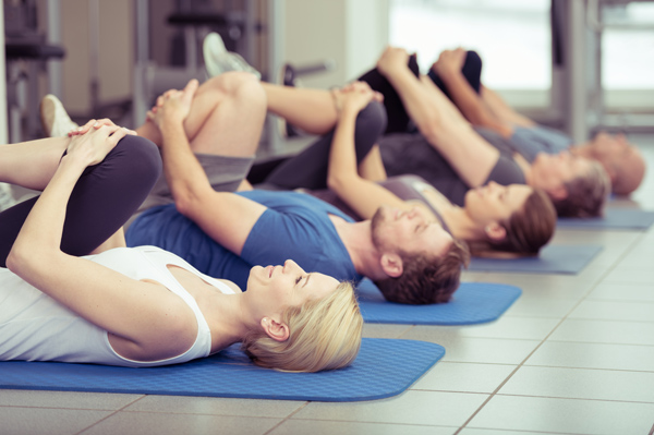 Fitness-Gruppentraining